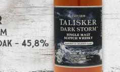 Talisker - Dark Storm - 45,8% - OB
