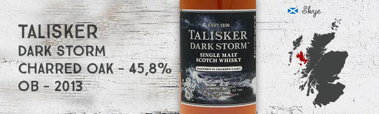 Talisker – Dark Storm – 45,8% – OB