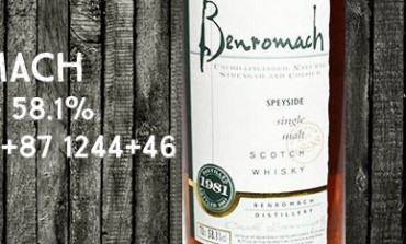 Benromach - 1981/2007 - 58,1% - Casks 1084 + 87, 1244 + 46  - OB
