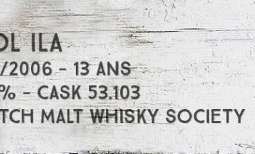 Caol Ila  - 1993/2006 - 13yo - 60,7% - Cask 53.103- Scotch Malt Whisky Society « Velvet Sweetness »