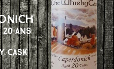Caperdonich - 1994/2014 - 20yo - 54,7% - The Whisky Cask