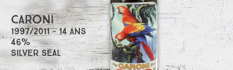 Caroni – 1997/2011 – 14yo – Trinidad & Tobago – 46% – Silver Seal