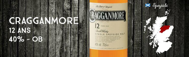 Cragganmore – 12yo – 40% – OB