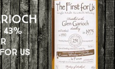Glen Garioch - 1975/1990 - 43% - Jean Boyer The first of Us