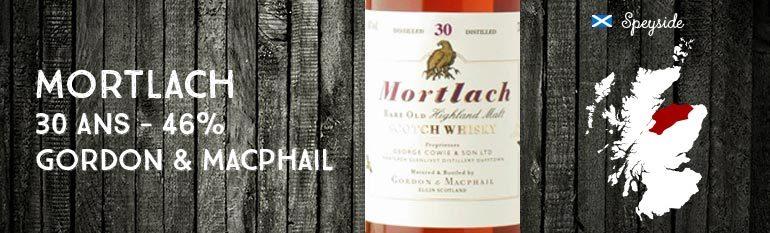 Mortlach – 30yo – 46% – Gordon & Macphail