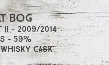 Peat Bog - part II -  2009/2014 - 4yo 3/4 - 59% - The Whisky Cask