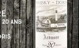 Ardmore 1992/2012 - 20 years old - 49,5 % - Whisky-Doris