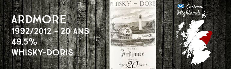 Ardmore 1992/2012 – 20 years old – 49,5 % – Whisky-Doris