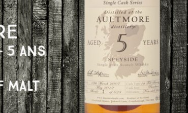 Aultmore - 2007/2012 - 5yo -  66,8 % - Master of Malt