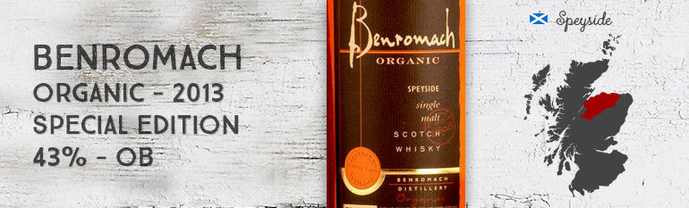 Benromach – Organic special edition – 2013 – 43%