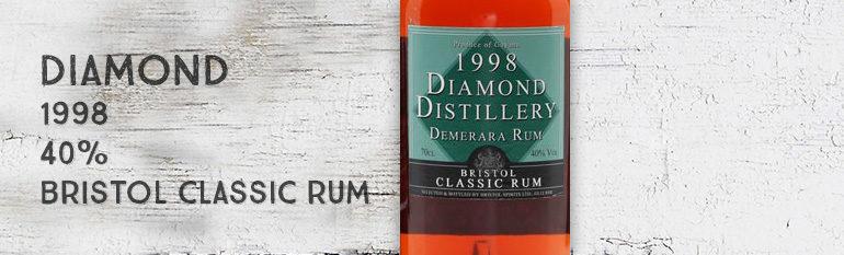 Diamond – 1998 – 40% – Bristol Classic Rum