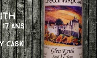 Glen Keith - 1995/2012 - 17yo - 52,9% - The Whisky Cask