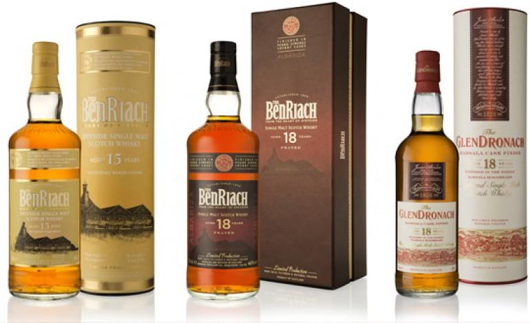 The Benriach Distillery Company : le travail du bois pour 3 officiels