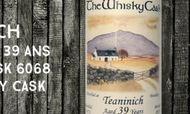 Teaninich - 1973/2013 - 39yo - 40,1% - Cask 6068 - The Whisky Cask