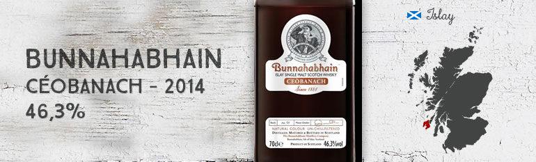 Bunnahabhain – Céobanach – 2014 – 46,3%
