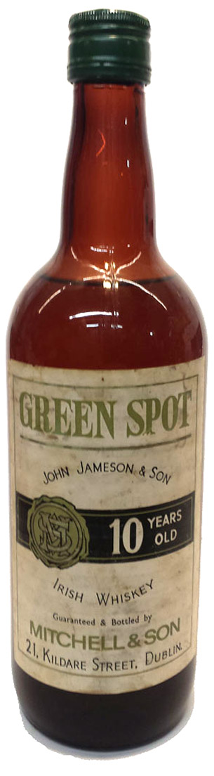 old-green-spot-bottle