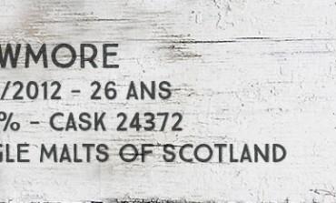 Bowmore - 1985/2012 - 26yo - 54,9% - Cask 24372 - Single Malts of Scotland