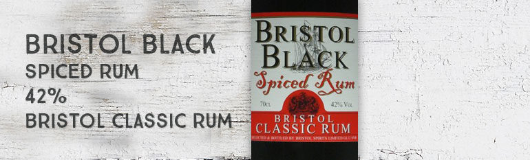 Bristol Black Spiced Rum – 42% – Bristol Classic Rum