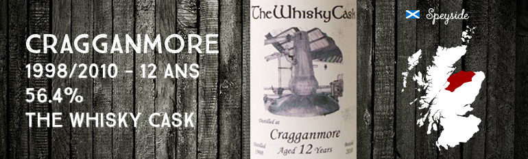 Cragganmore – 1998/2010 – 12yo – 56,4% – The Whisky Cask