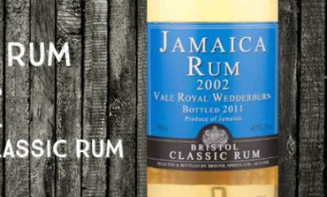 Jamaica Rum - Vale Royal Wedderburn - 2002 -  43% - Bristol Classic Rum