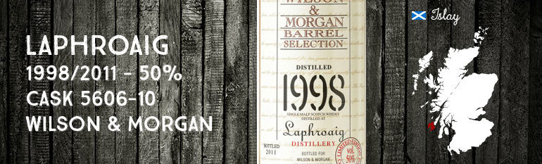Laphroaig – 1998/2011 – 50% – Cask 5606-10 – Wilson & Morgan