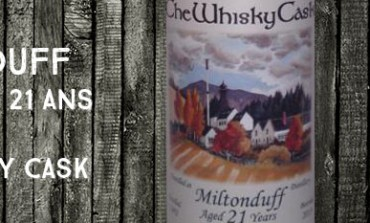 Miltonduff - 1992/2013 - 21yo - 56,7% - The Whisky Cask