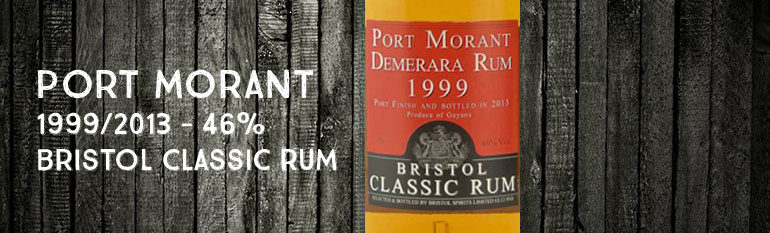 Port Morant – 1999/2013 – 46% – Bristol Classic Rum