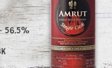 Amrut - 2009/2013 - Single Cask - 56,5% - Cask 2697 - OB