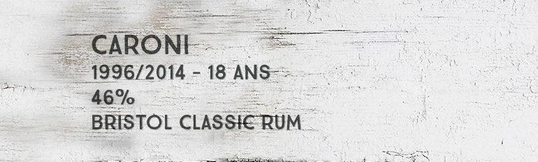 Caroni – 1996/2014 – 18yo – 46% – Bristol Classic Rum