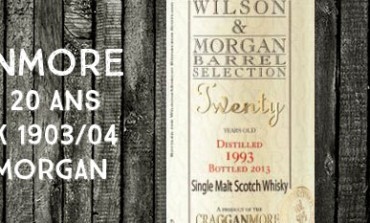 Cragganmore - Twenty - 1993/2013 - 20yo - 50% - Cask 1903/04 - Wilson & Morgan - Barrel Selection