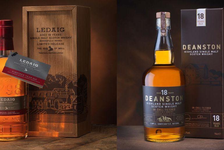 Burn Stewart Distillers : des 18 ans pour Ledaig et Deanston