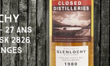 Glenlochy - 1980/2007 - 27yo - 58,3% - Cask 2826 - Part Des Anges