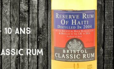 Reserve Rum of Haïti - 2004/2014 - 10yo -  43% - Bristol Classic Rum