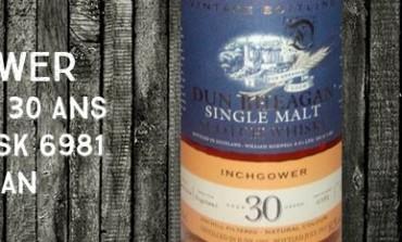 Inchgower - 1982/2012 - 30yo - 50,2% - Cask 6981- Ian McLeod Dun Bheagan