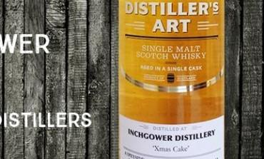 Inchgower - Xmas Cake - 48% - Langside Distillers Distiller's Art