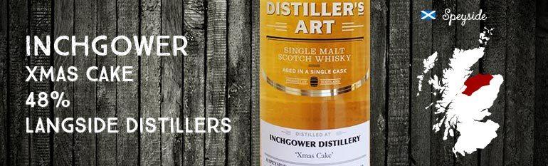 Inchgower – Xmas Cake – 48% – Langside Distillers Distiller's Art
