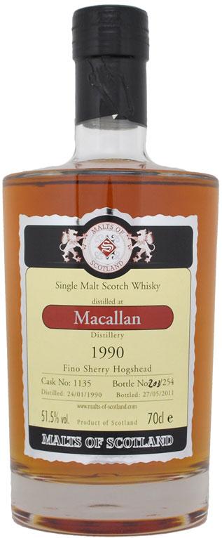 Macallan1990Cask1135MoS