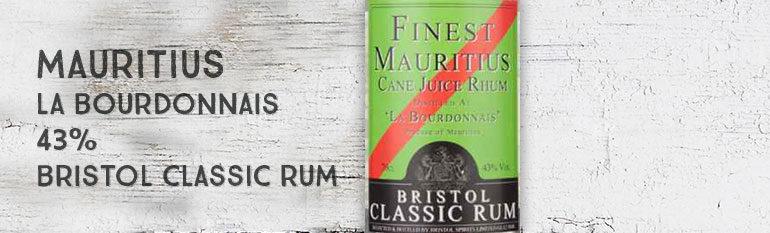 Finest Mauritius – Cane Juice Rhum – «La Bourdonnais» – 43% – Bristol Classic Rum