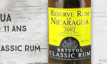 Reserve Rum of Nicaragua - 2002/2013 - 11yo -  40% - Bristol Classic Rum