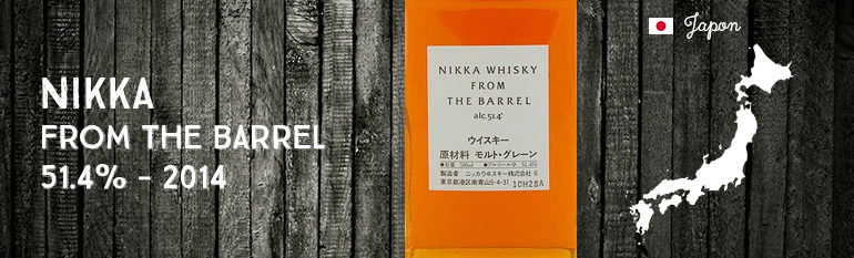 Nikka – From The Barrel – 51,4% – 2014
