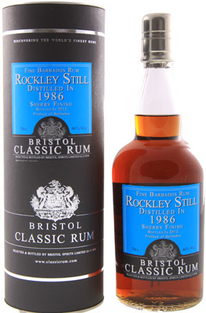 RockleyStill1986BristolClassicRum