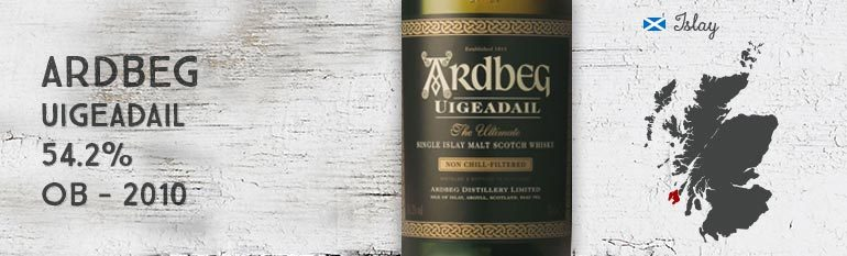 Ardbeg – Uigeadail – 54.2% – 2010