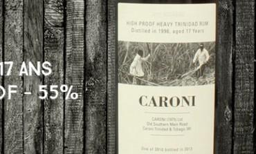 Caroni - 1996/2013 - 17yo - High Proof - 55% - Velier