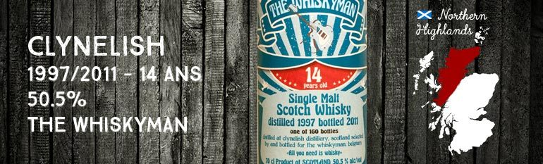 Clynelish – 1997/2011 – 14 yo – 50.5% – The Whiskyman