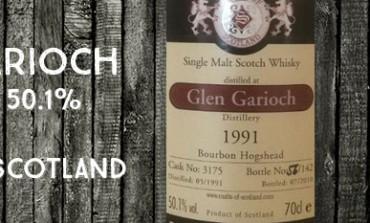 Glen Garioch - 1991/2010 - 50,1% - Cask 3175 - Malts of Scotland