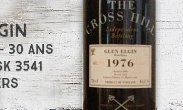 Glen Elgin - 1976/2006 - 30yo - 45,1% - Cask 3541 - Jack Wiebers The Cross Hill