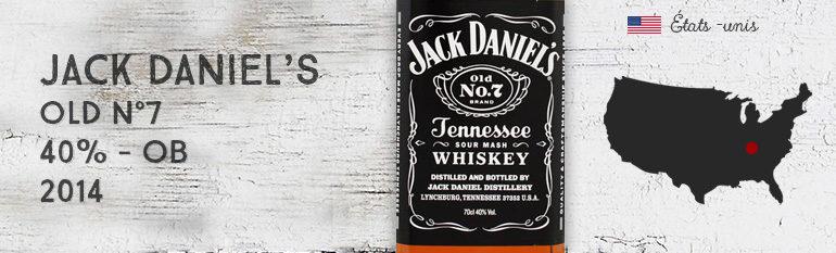 Jack Daniel's – Old N°7- 2014 – 40% – OB