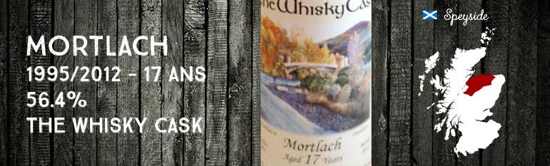Mortlach – 1995/2012 – 17yo – 56,4% – The Whisky Cask
