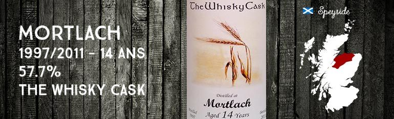 Mortlach – 1997/2011 – 14yo – 57,7% – The Whisky Cask