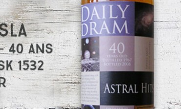 Strathisla - 1967/2008 - 40yo - 47,2% - Cask 1532 – The Nectar Daily Dram Astral Hits